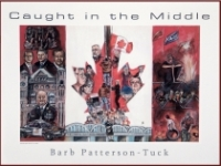 CVP founder Mark Vandermaas is portrayed by Caledonia artist Barb Patterson-Tuck in 2008 painting 'Caught in the Middle.'