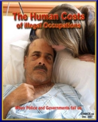 CANACE report, Dec 2007: The Human Costs of Illegal Occupations, 101p