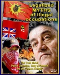 CANACE report, May 2008: Legalized Myths of Illegal Occupations