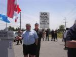 Gary McHale, DCE occupation site, June 19/11